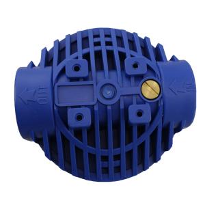 """GPV10-1. Filtergehäuse 10"""" Anschluss 1"""", Filterschlüssel, Wandbefestigung. FTD"""
