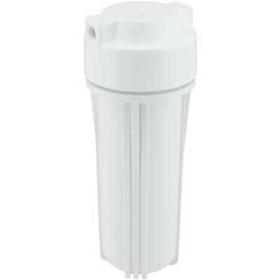 """Filtergehäuse 10"""" mit 1/4"""" Anschluss (weiß)"""