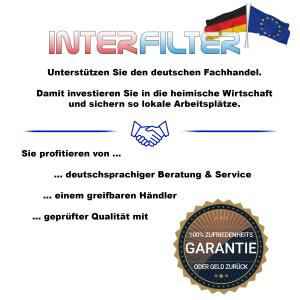 """Filtergehäuse 10"""" mit 1/4"""" Anschluss (klar)"""