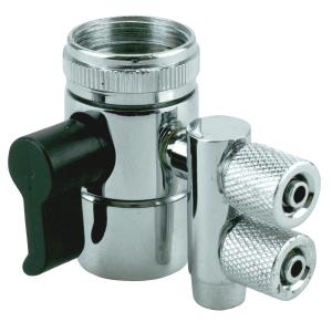 """Perlator Anschluss 2x 1/4"""" Klemmverb. (Faucet valve..."""