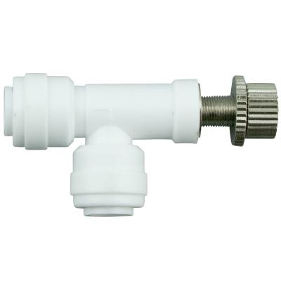 """Durchflussbegrenzer - Flow Restrictor 0-400ml REGELBAR - 1/4""""Steckverb."""