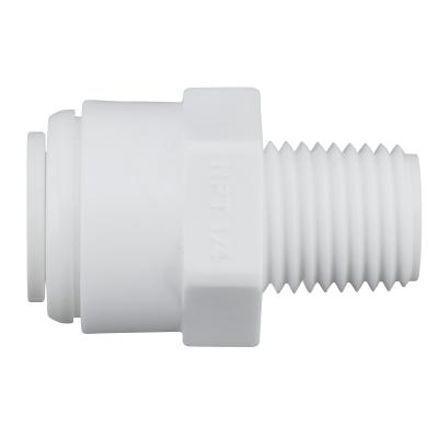 "Einschraub - Steckverbindung 1/4""AG - 3/8""Steckverb. (male connector MC0406)"