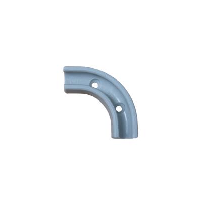 MW-1g. Montagewinkel / Winkelklemmleiste grau