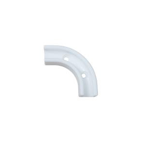 MW-1w. Montagewinkel / Winkelklemmleiste Weiß