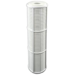 GPV10-3/4N. Gehäuse 10Zoll, Anschluß 3/4Zoll. Filtereinsatz NET