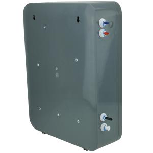 """""""SLIM-NLPP"""" schlanke UmkehrOsmose Wasserfilteranlage - mit NewLine Filterkartuschen und Permeatpumpe"""