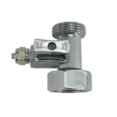 """Wasseranschluss T-Stück 3/4""""IGx3/4""""AGx1/4"""" Klemmverb. (JACO)"""