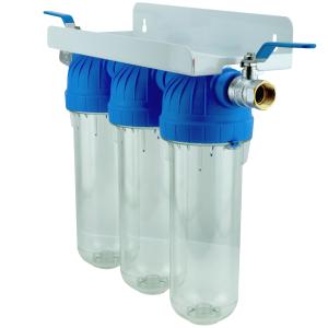 """Water Filter UPS 3 10""""x2,5 Ohne Kartuschen 3/4"""" EMI"""