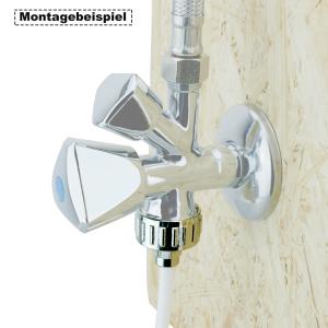 AS6M-0 Anschluss-Set für Side by Side Kühlschrank, kein Schlauch