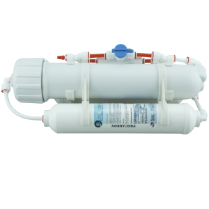 kompakte UmkehrOsmose Anlage - 150GPD mit Spülventil (FT)
