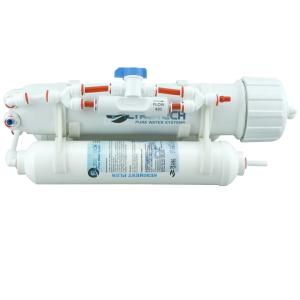 kompakte UmkehrOsmose Anlage - 75GPD mit Spülventil (FT)