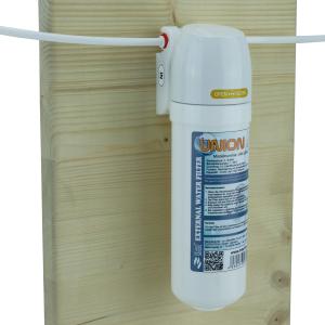 SET: Wasserfilter UNION 4 inkl. Filterkopf, 5m Schlauch 1/4Zoll (6,35mm) und Ersatzkartusche