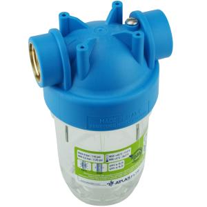 """GPV5-AT-2NET. Wasserfilter 5Zoll, Anschluss 1"""" inkl. 2 Stk. Filtereinsatz"""