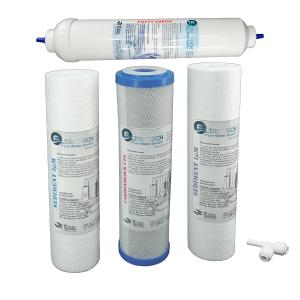 VFS-4FT/G2. Ersatzfilter-Set FiltroTech für RO-5. Gratis- Trinkflasche