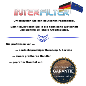 FT-2/G1 extern. universal Wasserfilter 2er Pack + Faltflasche